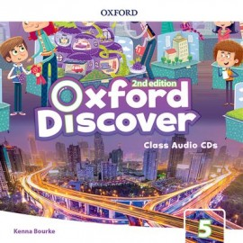 Oxford Discover Second Edition 5 Class Audio CDs