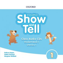 Show and Tell Second Edition 1 Class Audio CDs