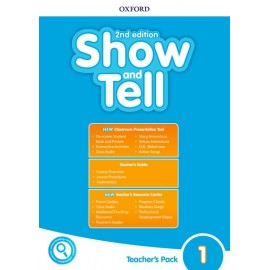 Show and Tell Second Edition 1 Teacher's Book