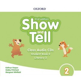 Show and Tell Second Edition 2 Class Audio CDs