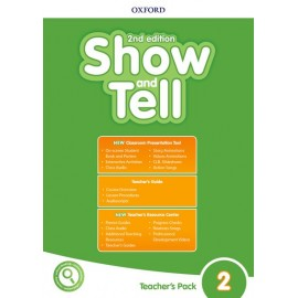 Show and Tell Second Edition 2 Teacher's Book