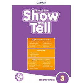 Show and Tell Second Edition 3 Teacher's Book