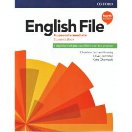 English File Fourth Edition Upper-intermediate Student's Book s anglicko-českým slovníčkem a Online Practice