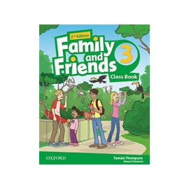 Family and Friends 3 Second Edition Class Book