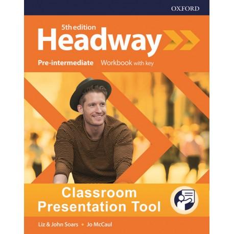 New Headway Fifth Edition Pre-Intermediate Classroom Presentation Tool eWorkbook
