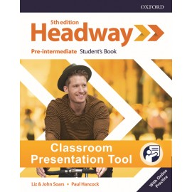New Headway Fifth Edition Pre-Intermediate Classroom Presentation Tool Student´s eBook