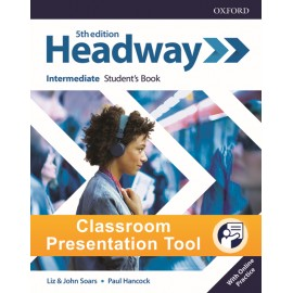 New Headway Fifth Edition Intermediate Classroom Presentation Tool Student´s eBook