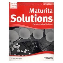Maturita Solutions Second Edition Pre-Intermediate Workbook Czech Edition
