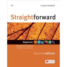 Straightforward Beginner Second Edition Student´s Book + eBook + Practice Online access