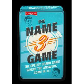 Name Three stolní rodinná hra v angličtině