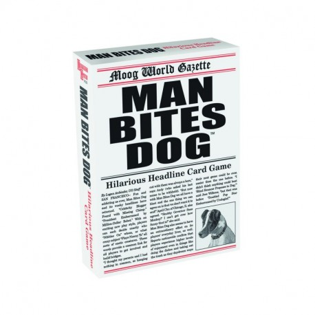 Man Bites Dog Card Game angličtina základní a střední škola