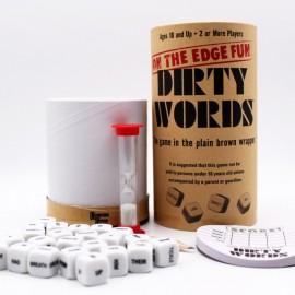 Dirty Words společenská hra pro dospělé v angličtině