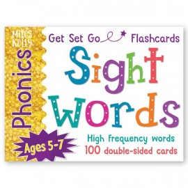 Phonics Flashcards: Sight Words výukové karty angličtina