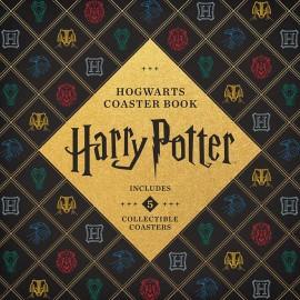 Harry Potter Hogwarts Coaster Book : Gryffindor, Ravenclaw, Hufflepuff, Slytherin