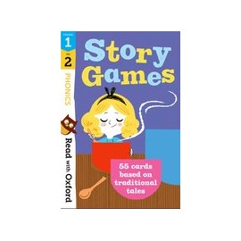 Read with Oxford: Phonics Story Games Flashcards