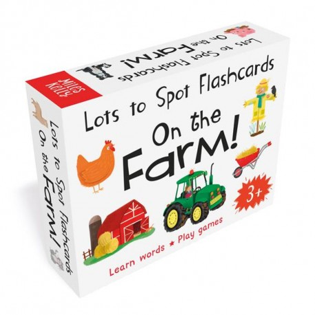 Lots to Spot Flashcards On the Farm!
