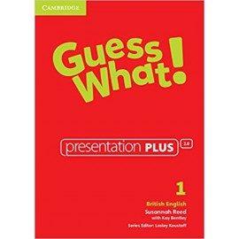 Guess What! 1 Presentation Plus DVD-ROM