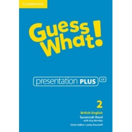 Guess What! 2 Presentation Plus DVD-ROM
