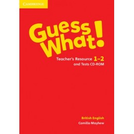 Guess What! 1-2 Teacher's Resource and Tests CD-ROM