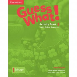 Guess What! 3 Activity Book with Online Resources