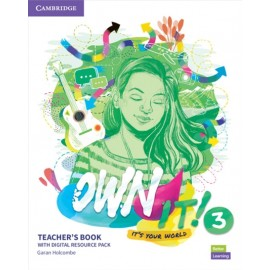 Own it! 3 Teacher's Book with Digital Resource Pack