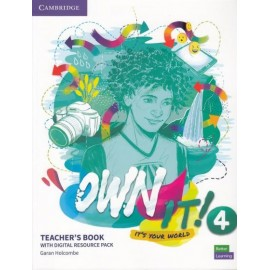 Own it! 4 Teacher's Book with Digital Resource Pack
