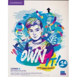 Own it! 1 Combo A Student's Book and Workbook with Practice Extra