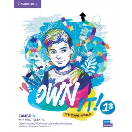Own it! 1 Combo B Student's Book and Workbook with Practice Extra