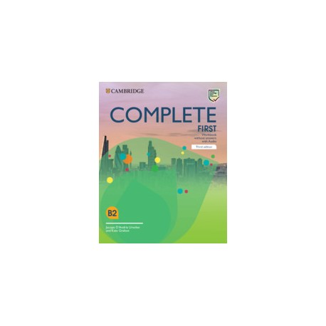 Complete First Third Edition Workbook without Answers with Audio