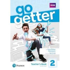 GoGetter 2 Teacher's Book with MyEnglishLab & Online Extra Homework + DVD-ROM Pack