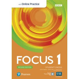 Focus 1 Second Edition Student's Book with PEP + Online Practice