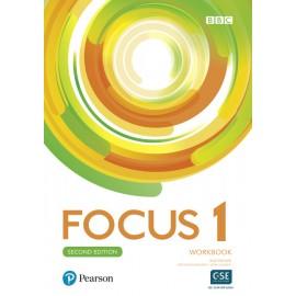 Focus 1 Second Edition Workbook with Audio online