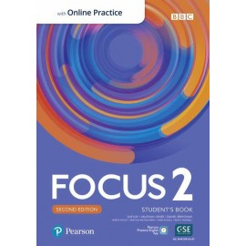 Focus 2 Second Edition Student's Book with PEP + Online Practice