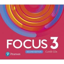 Focus 3 Second Edition Class CD