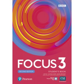 Focus 3 Second Edition Student's Book with Basic PEP Pack