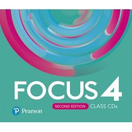 Focus 4 Second Edition Class CD