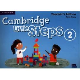 Cambridge Little Steps 2 Teacher's Edition
