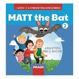 MATT the Bat 2 CD k Učebnici