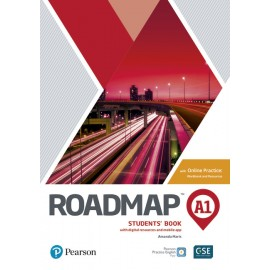 Roadmap Starter/A1 Students' Book with digital resources and mobile app with Online Practice
