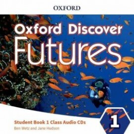 Oxford Discover Futures 1 Class Audio CDs