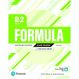 Formula B2 First Exam Trainer With Key and Interactive eBook