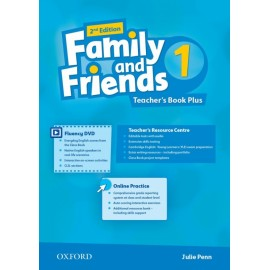 Family and Friends 1 Second Edition Teacher's Book Plus