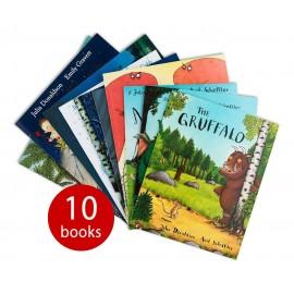 Julia Donaldson 10-book Collection 2020 (Ziplock)
