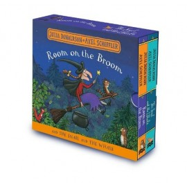 Room on the Broom and The Snail and the Whale Board Book Gift Slipcase