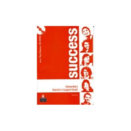 Success Elementary Teacher's Book + Test Master CD-ROM Longman 9781405863445
