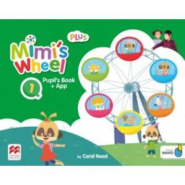 Mimi's Wheel Level 1 Pupil's Book Plus with Navio App