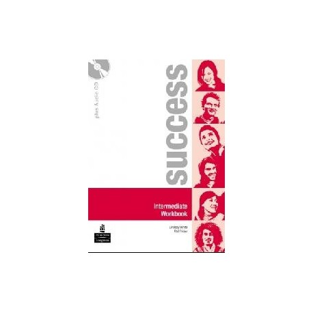 Success Intermediate Workbook + CD Longman 9780582855595