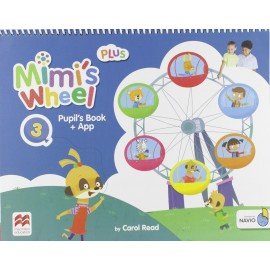 Mimi's Wheel Level 3 Pupil's Book Plus with Navio App