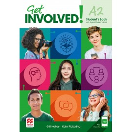 Get Involved! Level A2 Student's Book with Student's App and Digital Student's Book