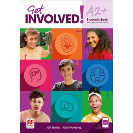 Get Involved! Level A2+ Student's Book with Student's App and Digital Student's Book